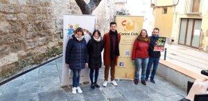 Aquest matí s'ha presentat una nova edició del Pessebre Vivent de Valls a la plaça dels Escolans.