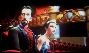 Fotograma de la pel·lícula 'Ballerina' amb Luís Merante i Roseta Mauri.