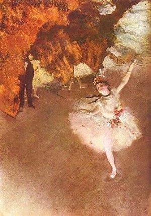 La famosa pintura de Degas.