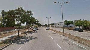 L'accident s'ha produït al carrer del Sofre del polígon Riu Clar de Tarragona.