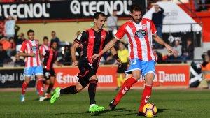 Linares ha fregat el gol en el primer temps després de tapar un llançament de porteria