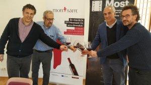 Presentació del Festival Most, edició Priorat, a Reus
