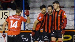 El Reus Deportiu Miró ha golejat en el partit més rodó de la temporada