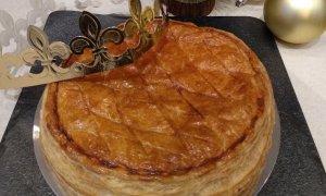 El tortell de Reis francès, de Les Délices de Laura.
