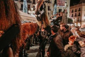 Espectacle Cavalls de Menorca del Nadal a Reus