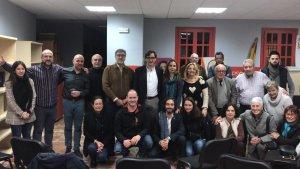 Imatge de l'assemblea del PSC de Cambrils celebrada ahir dimecres, 12 de desembre