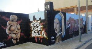 Imatge d'un dels grafits que es poden veure al Vendrell.