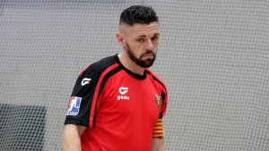 Jordi Ferrer ha marcat tres gols però no ha servit per guanyar