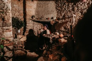 Pessebre dels Estels a Masia Castelló