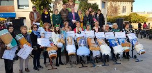 Quadre de guanyadors del Concurs Nacional de la Punta al Coixí de l'Arboç.