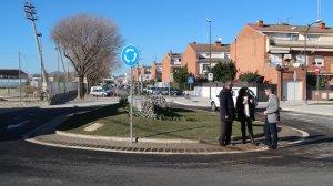 S'ha reformat la rotonda del carrer de Nelson Mandela al barri Sol i Vista
