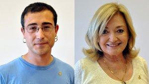 Toni Sacristan i Núria Gómez encara no han assegurat que continuïn com a caps de llista, respectivament, de la CUP i el PP.