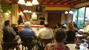 Un acte de la campanya d'ICV-EUiA a Torredembarra a les eleccions municipals de 2015.