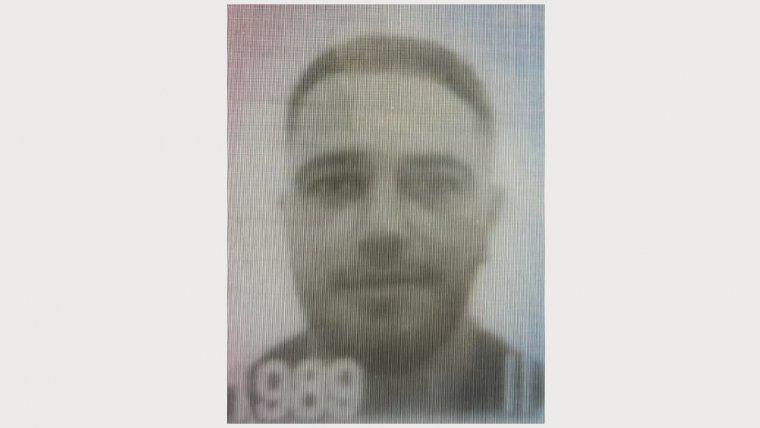 Imatge de Khalid Makran, segons la fotografia enviada pels Mossos a totes les comissaries.