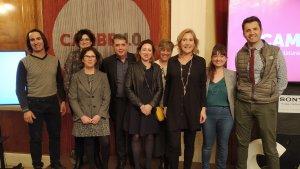 Àgata Girbes ha presentat part de l'equip de la candidatura Cambra 4.0