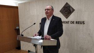 Carles Pellicer, alcalde de Reus, ha comparegut per valorar l'arxivament de la causa