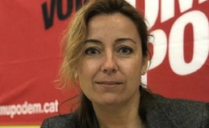 Carolina Burgos, alcaldable per Catalunya en Comú - Podem a Cunit.