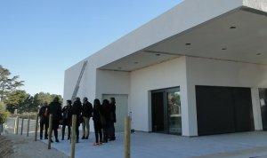 El nou local social de la Miralba, a la Bisbal del Penedès.