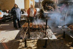 Esmorzar de la fira de st.Vicenç a l'Espluga de Francolí