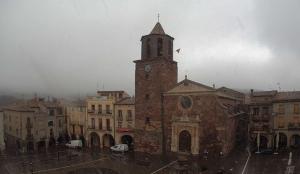 Flocs de neu aquest dimarts a Prades