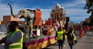 Imatge de la rua de Carnaval de l'Arboç.