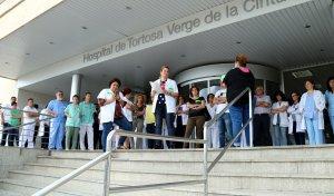 Imatge de l'exterior de l'Hospital de Tortsa Verge de la Cinta.