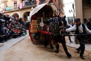 Imatge dels Tres Tombs a Valls que se celebren aquest cap de setmana.