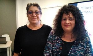 Isabel Bou i Gemma del Rio, d'En Comú Podem Calafell.
