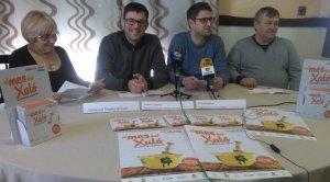 Jaume Casañas i Raül Mudarra, presentant el Mes del Xató 2019.