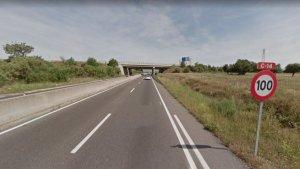 La c-14 és una de les carreteres on es modificarà el límit de velocitat.