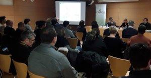 L'acte de presentació de l'avantprojecte del Pla Territorial del Penedès, al Vendrell.