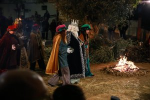 Les imatges del Pessebre Vivent i la Cavalcada de Reis de Calafell