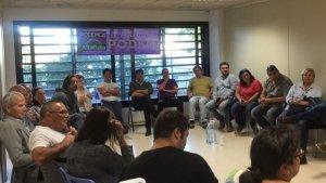 Una imatge d'arxiu d'una de les reunions del cercle local de Podem a Altafulla.
