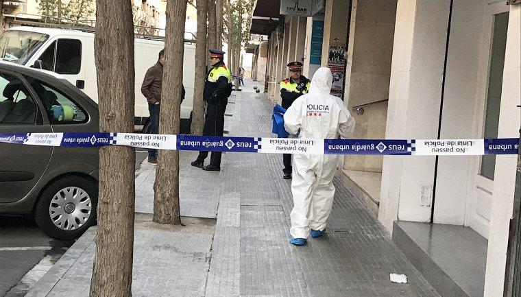 Policia científica dels Mossos d'Esquadra.