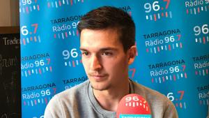 Antonio Cotán durant l'entrevista al Sempre Nàstic