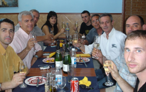 Augut Armengol, Josep Anglada i els regidors de PxC al Vendrell, en temps millors.