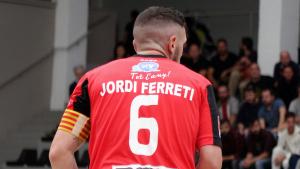El capità Jordi Ferrer és el màxim golejador del CE Vendrell