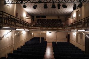 El pati de butaques del Bravium Teatre