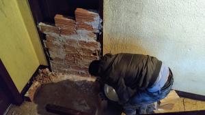 Els veïns han fet tapiar un pis al carrer de Wad-Ras de Reus
