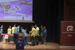 First Lego League al palau de congresos de Tarragona