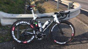 Gerd de Keijzer ha denunciat el robatori de la seva bicicleta Colagno C60