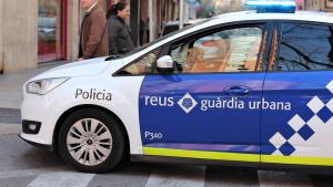 Imatge d'arxiu d'una patrulla de la Guàrdia Urbana de Reus.
