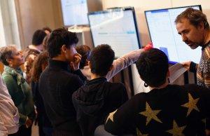 Imatge de la visita de l'Escola Alba a TarragonaDigital.com.