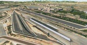 Imatge virtual de la nova àrea d'assaig per al vehicle autònom d'Idiada.