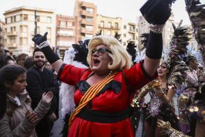 Imatges de la presentació del Rei Carnestoltes i Concubina de Tarragona