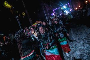 La gran festa del Cós Blanc a Salou