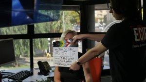 Rodatge del curtmetratge 'Recoge tus cosas'