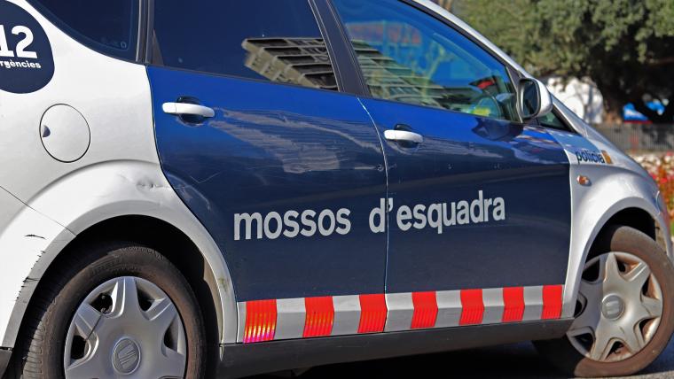 Imatge d'arxiu d'una patrulla dels Mossos d'Esquadra.