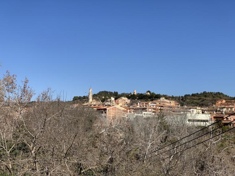 Imatge del poble de Vila-rodona, a l'Alt Camp