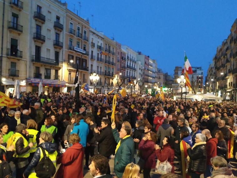Manifestació 21-F a Tarragona